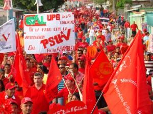 El pueblo de Ricaurte demostró que la Revolución se queda en Cojedes.